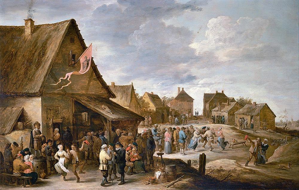 David Teniers the Younger, Village Festival