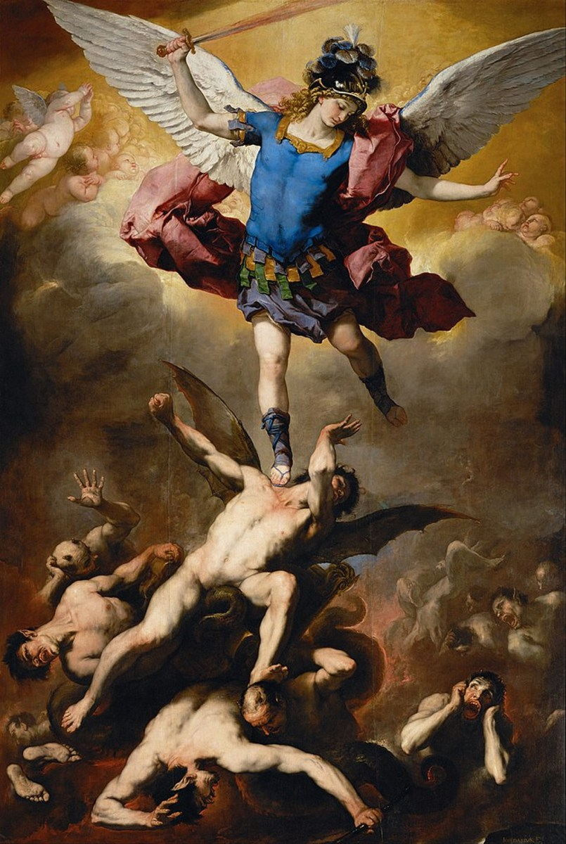 Luca Giordano, The Fall of the Rebel Angels