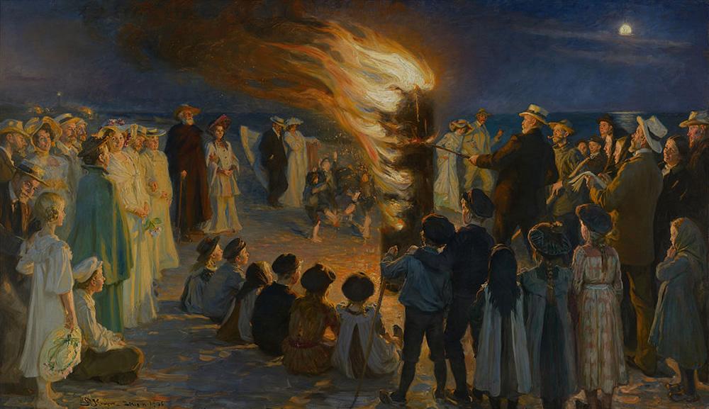 Peder Severin Krøyer, Midsummer Eve