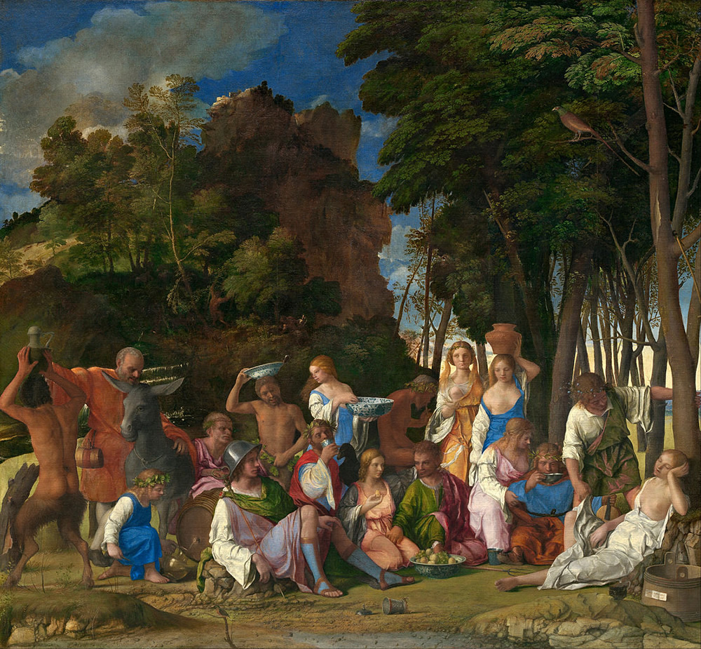 Giovanni Bellini, The Feast of the Gods