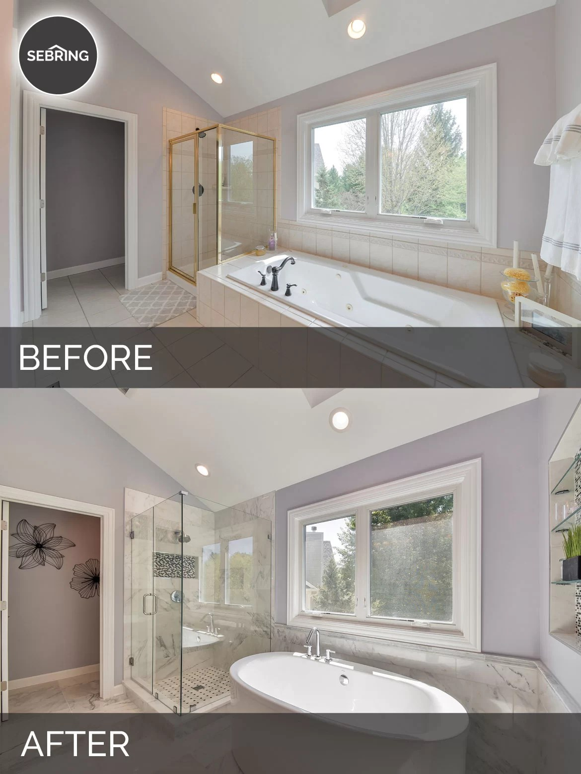 Doug Amp Natalies Master Bath Before Amp After Pictures