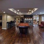 Chad Michelle S Basement Remodel Pictures Home