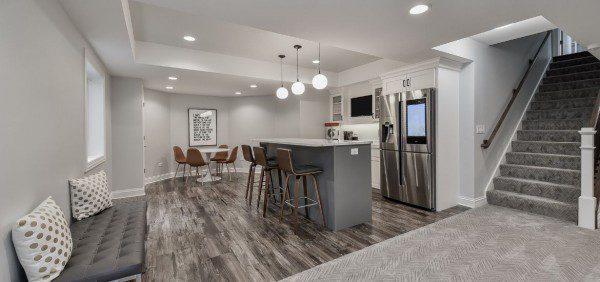 in basement wet bar design for 2021