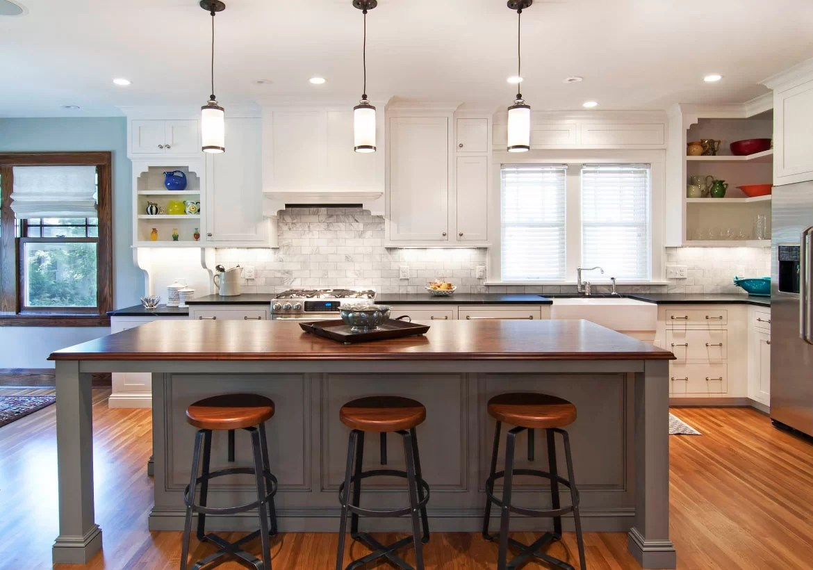 70 Spectacular Custom Kitchen Island Ideas