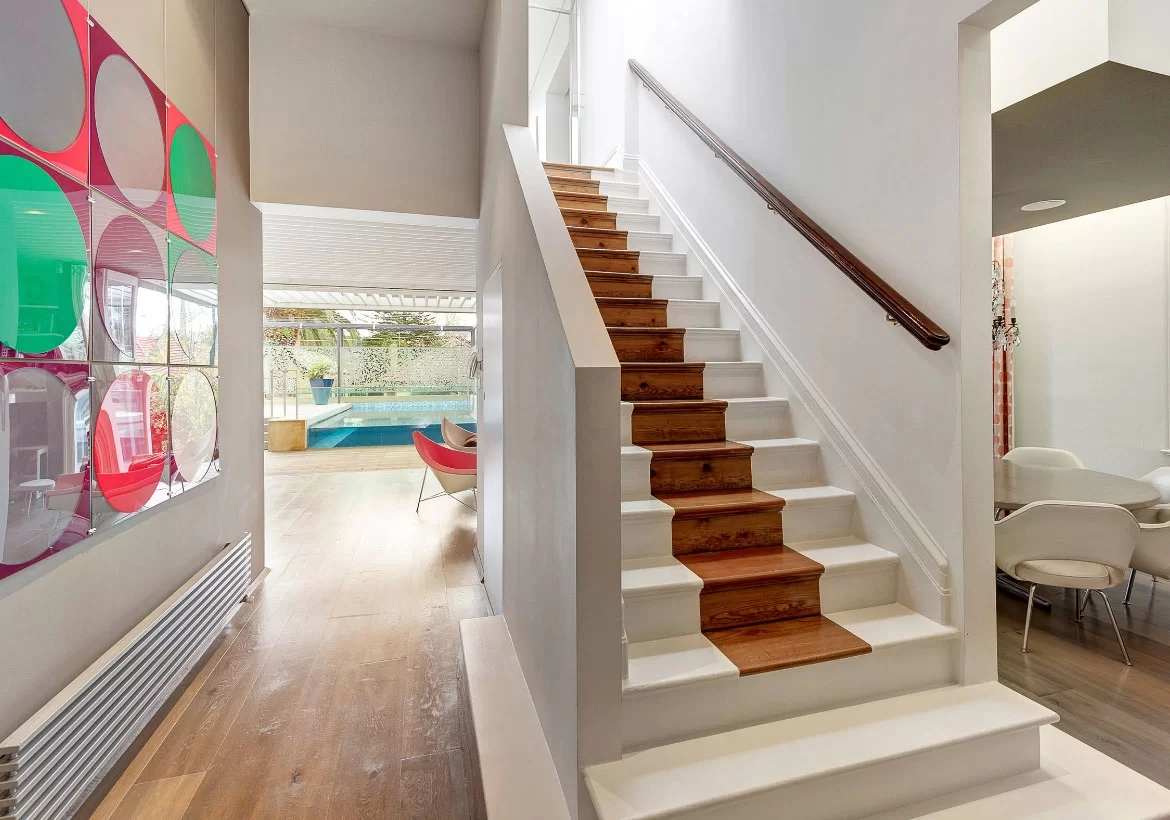 95 Ingenious Stairway Design Ideas For Your Staircase Remodel | Stairs Tiles Design For Home | Readymade Staircase | Duplex House | Style Kerala | Railing | Porcelain