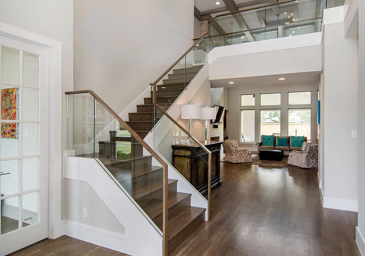 95 Ingenious Stairway Design Ideas For Your Staircase Remodel | Glass Stair Treads Cost | Floating | Steel | Handrail | Hardwood | Wood