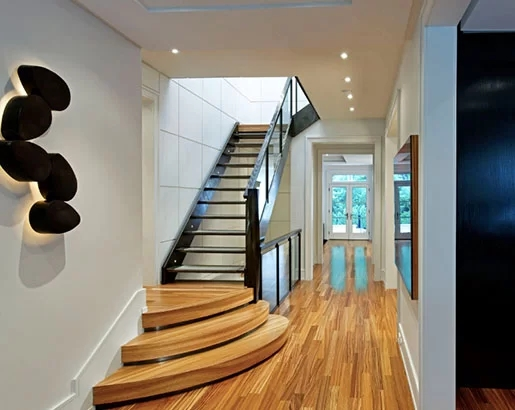 95 Ingenious Stairway Design Ideas For Your Staircase Remodel | Building Half Round Wood Steps | Curved | Precast Concrete Steps | Outdoor | Concrete Slab | Risers