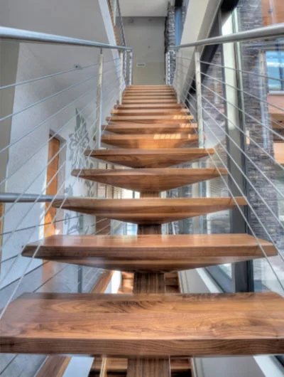 95 Ingenious Stairway Design Ideas For Your Staircase Remodel | Tread Riser Staircase Design | Effective | Contemporary | Cad Detail | Folded Plate | Angled