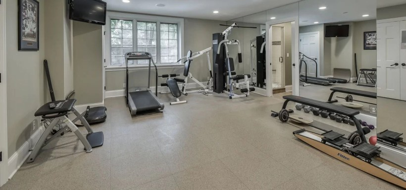 Home fitness room layout amatfitness.co