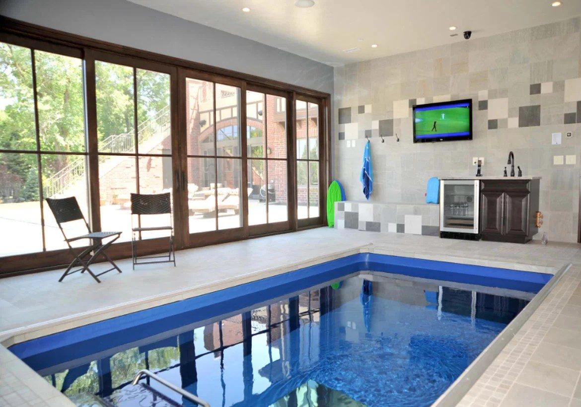 Indoor Pool And Hot Tub Ideas: Swim With Style At Home