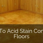 How To Acid Stained Concrete Floors Sebring Design Build