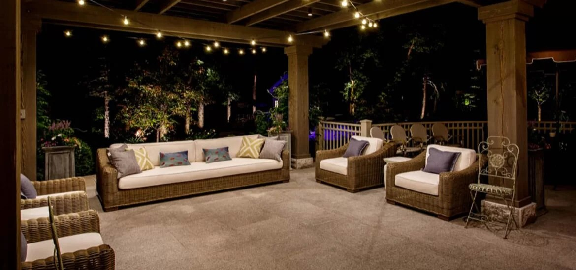 30 outdoor patio led bistro string