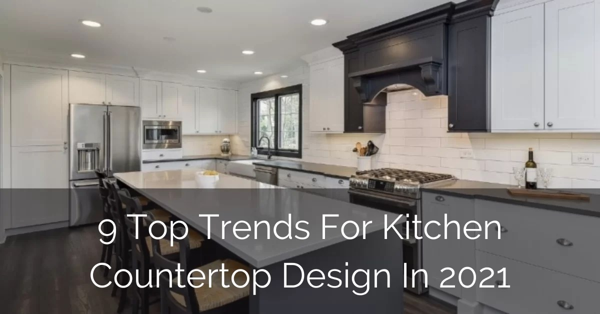 kitchen countertop design in 2021
