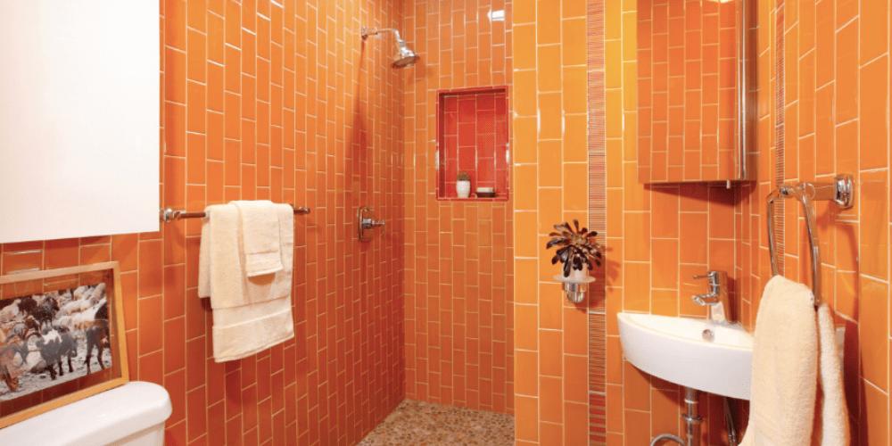 23 orange tile design ideas for your