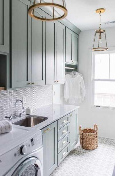37 modern farmhouse laundry room ideas