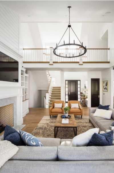 41 modern farmhouse living room ideas