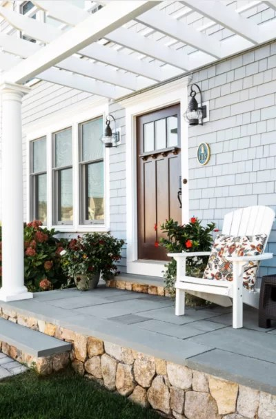 house front patio designs