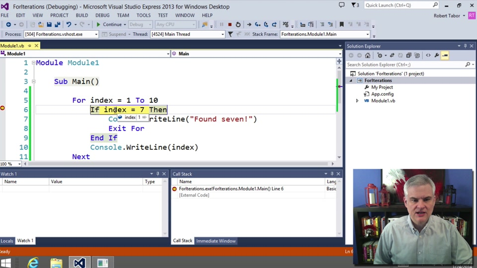 Visual Basic Fundamentals For Absolute Beginners 09 For