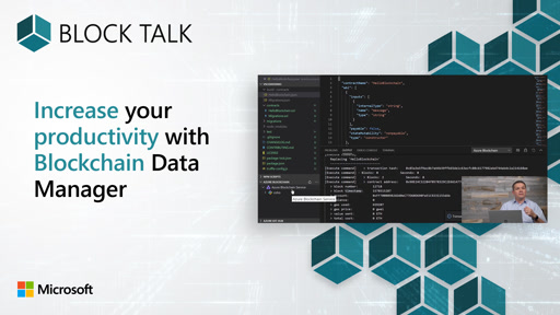 Blockchain: Increase your productivity with blockchain data manager