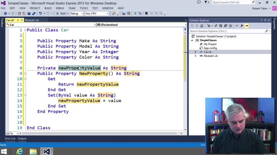 Visual Basic Fundamentals For Absolute Beginners 15
