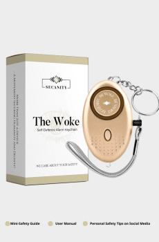 Alarm Keychain Gold Homepage