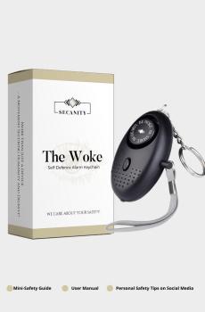 Alarm Keychain Black Homepage