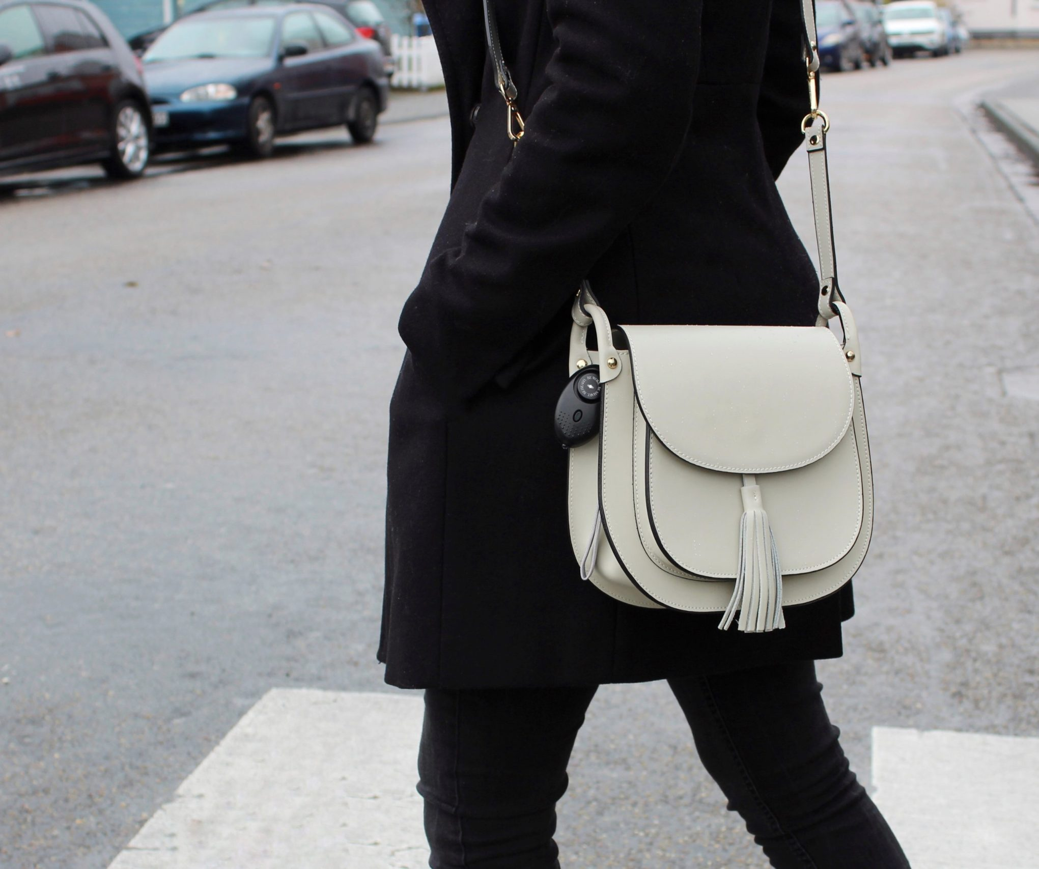 Black Alarm Bag