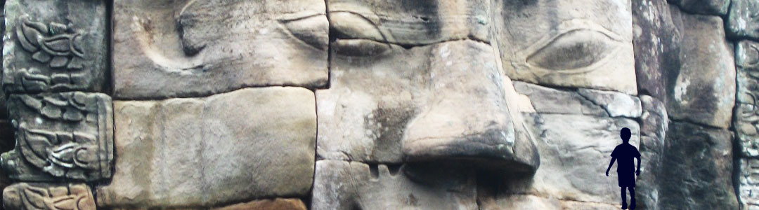 photo d'un visage sculpté dans la pierre illustrant le concept de réification