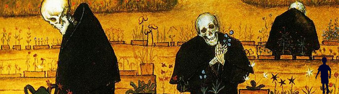 jardin des morts illustrant la valeur-dissociation