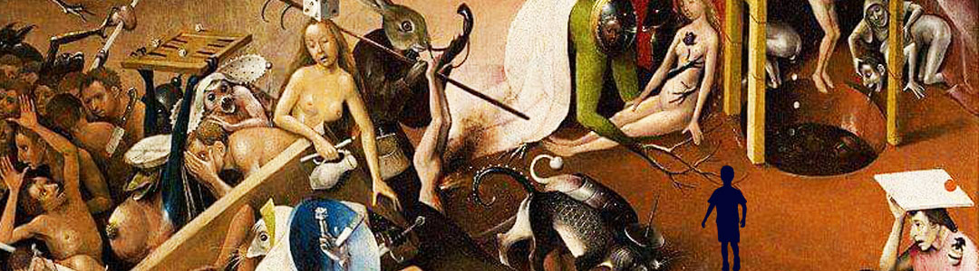 un tableau de bosch illustre le libéral-totalitarisme
