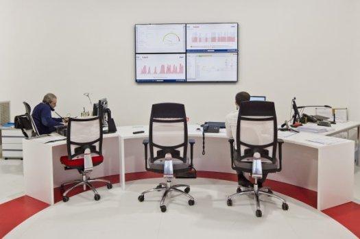 Centro di coordinamento Siram, società del gruppo Veolia Sech Building