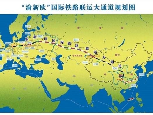 Cina, nuovo collegamento ferroviario con l'Italia