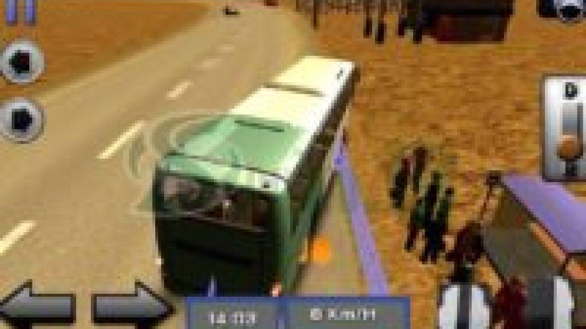 Game Simulasi Bus Android - bus simulator 3D