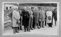Mustafa Kemal, Büyükdere yolunda Belgrad Ormanları'nda (1932)