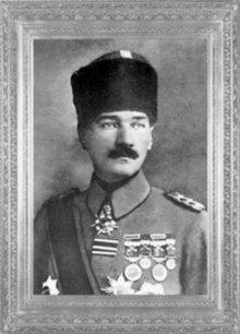 Mustafa Kemal, Yıldırım Orduları Grup Komutanı iken (31 Ekim-13 Kasım 1918)