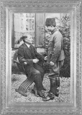 Mustafa Kemal, İsmet Paşa ile Çankaya'da (1921)