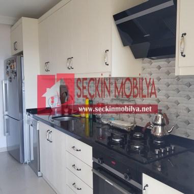 High Gloss Panel Kapaklı Mutfak Dolabı (1)