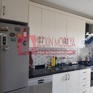 High Gloss Panel Kapaklı Mutfak Dolabı (2)