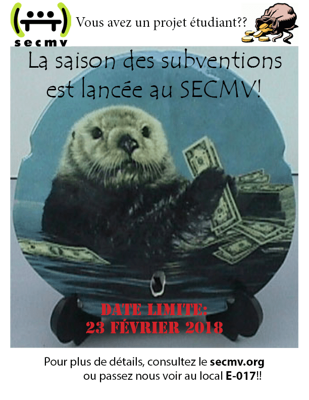 Affiche subventions H2018