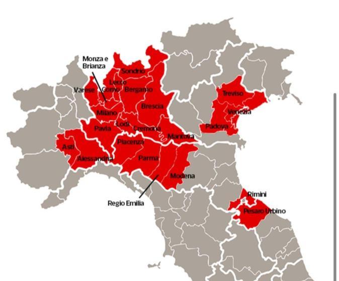 zona rossa italia covid19