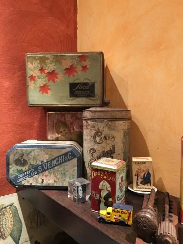 Collezione scatole di cioccolato