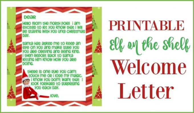 Letter Leave When Elf They Shelf
