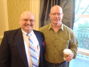 Craig J. Phillips MRC, BA with Mr. David Seaton at the 12 Annual North American Brain Injury Society Conference in San Antonio, Texas