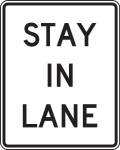 Stay in Your Own Lane and You Will Succeed by Not Giving Up