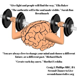 "Getting Past a ""Fast Food"" and a ""Microwave"" Mindset to Enjoy Life (click on the picture to enlarge poster)"