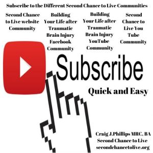 Subscribe to the Different Second Chance to Live Communities (Click to Enlarge)