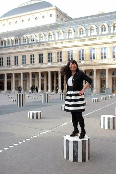 My hair twist at the Palais Royal