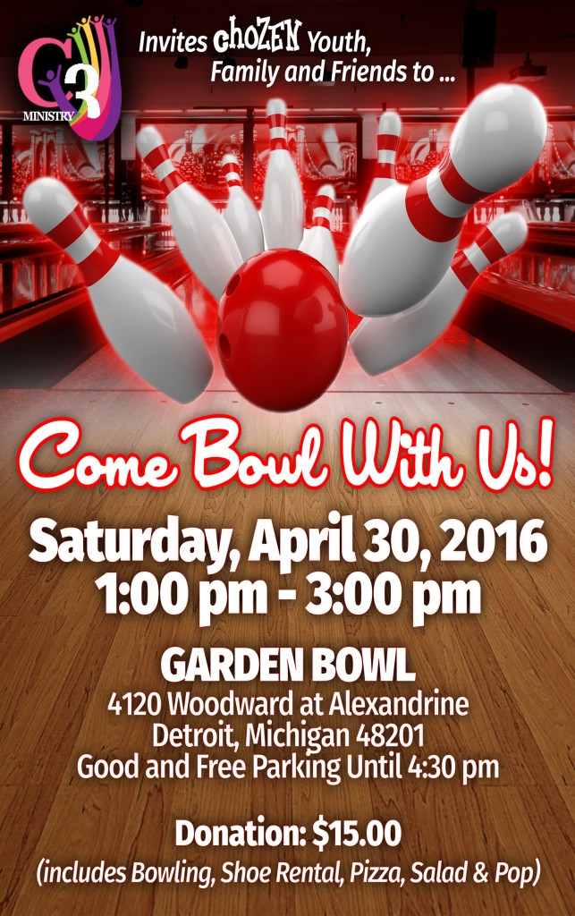 Come Bowl With Us Second Ebenezer Church