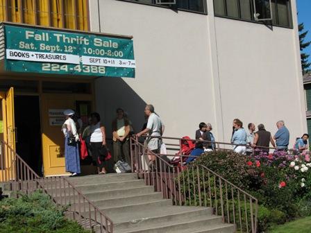 West Point Grey Rummage Sale Line Up