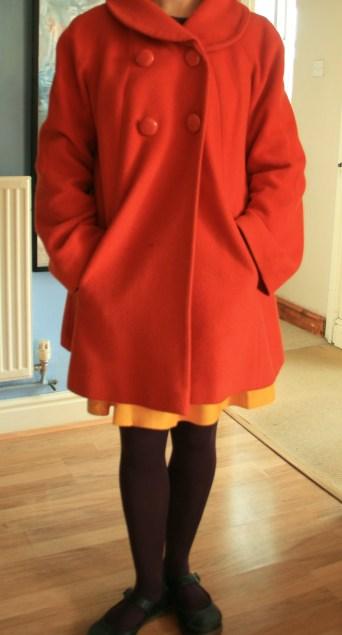 secodhandfirstweek: that orange coat